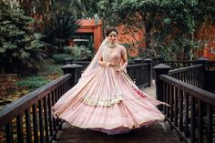 All Indian Bride used to very excited about there wedding shopping. When its come to Bridal lehenga bride used to visit the market, brand and online to Bollywood Lehenga, Pink Lehenga, Bridal Outfits, Bridal Dresses, Goa Wedding, Elegant Wedding, Wedding Ideas, Mehndi Ceremony, Designer Bridal Lehenga