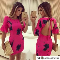 "6,498 Likes, 128 Comments - Blog Trend Alert (@arianecanovas) on Instagram: ""Vestido @anahovastore """