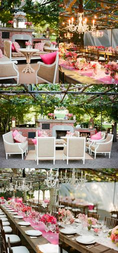 lovely outdoor #party #styling, table top