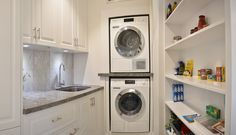 Make your everyday tasks enjoyable in a well-designed laundry. 3d Design Software, Laundry Design, Drawer Runners, Can Design, Stacked Washer Dryer, Laundry Rooms, Kitchen Designs, Washing Clothes, Perth