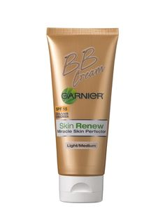 Just ask any dermatologist—hyaluronic acid and glycerin are moisturizing powerhouses. Garnier Skin Renew Miracle Skin Perfector BB Cream SPF 15 contains both of them, so it's kind of like Gatorade for dehydrated skin. The light formula covers minor imperfections, is easy to blend over dry areas, and generally feels really nice. It's also an overachiever: Vitamin C in the formula brightens skin.