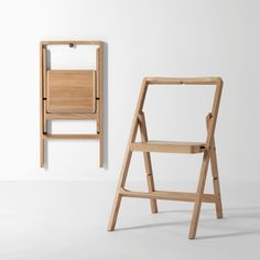 Step Step Ladder by Design House Stockholm Folding Furniture, Cheap Folding Chairs, Cool Furniture, Furniture Design, Furniture Ideas, Homemade Furniture, Outdoor Furniture, Farmhouse Furniture, Furniture Inspiration