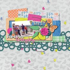 Good Day: Remember Everyday made using Janet Scott's portion of the Good Day Collaboration