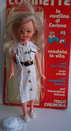 Very Rare Corinette Italocremona, Vintage Doll 1976 $75+20