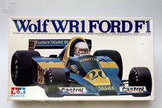 TAMIYA WOLF WR1 FORD F1 1/20 Modell OVP - cyan74.com vintage & pop culture