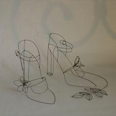 fils de fer sculptures