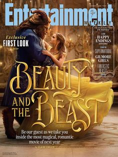 This First Look at Emma Watson and Dan Stevens as Belle and Beast Will Make You Happy Cry
