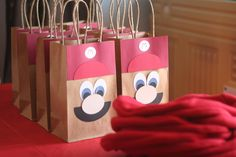 "Super Mario Brothers / ""A ""Super"" Mario Birthday Party"" Wish I saw this last year for Jack's party but i'm sure he will want Mario Bros again soon! Birthday Party Ideas,For the Grands !,Fun Id Super Mario Party, Super Mario Birthday, Mario Birthday Party, 6th Birthday Parties, Birthday Fun, Birthday Ideas, Birthday Gifts, Birthday Cakes, Mario E Luigi"
