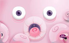 Pink Octopus Wallpaper Downloads, Hd Wallpaper, Any Images, Beats Headphones, Cartoon, Octopus, Illustrations, Pink, Collection