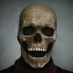 Halloween Skull Mask, Masque Halloween, Creepy Halloween, Halloween Horror, Halloween Costumes, Halloween Masquerade, Halloween Party Favors, Halloween Sale, Halloween Birthday