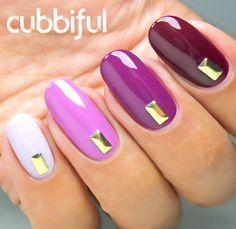 Fancy Autumn Ombre Nails http://cubbiful.blogspot.com/2014/09/fancy-autumn-ombre-nails-with-inocos.html