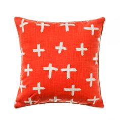Home Republic Hatchet Red Cross - Soft Furnishings Cushions - Adairs Online  I love these pillows so much, you can reserve them too if you get bored of the pattern! These are going cheap right now, instead of 59.95 it's now only 19.95! Get on it!
