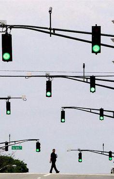 I can make the green lights flash, I can make you crash