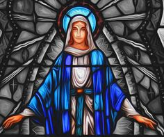 """In the Catholic Church the month of May is Mary's month. It's the month we honor Blessed Mary as the Mother of Jesus and our Heavenly Mother. If you attended Catholic school, you probably remember taking part in the """"May crowning"""" in the beginning of May–where a wreath of flowers was placed on the head of the statue of Mary as prayers were said."""