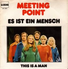 """Meeting Point - """"Es ist ein Mensch"""", german preselection for the Eurovision Song Contest 1976, place 6"""