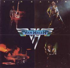 Van Halen - Van Halen 1978 Music Front Cover