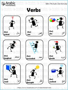 Arabic/English Picture Dictionary- Fruit and Vegetables
