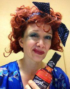 Miss Hannigan- Weather's court attire?