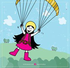 Lux hawaiana!   #lux #muñeca #pink #doll #sky #cielo #parapente #paragliding #montañas #verde #ilustration #ilustracion ver mas en FB: lux la muñeca
