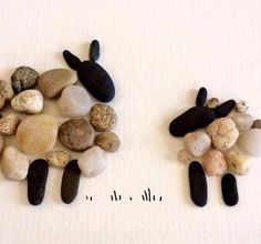 Pebble Art of Nova Scotia (Sharon Nowlan) Pebble Stone, Pebble Art, Stone Art, Stone Crafts, Rock Crafts, Mosaic Pots, Pebble Pictures, Driftwood Crafts, Rock Decor