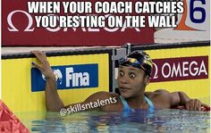 Untitled Swimming Funny, Usa Swimming, Swimming World, Swimming Memes, Swimming Sport, Swimming Diving, Keep Swimming, Swimming Coach, Swimmer Problems