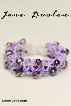 How to make a Jane Austen Rainbow Loom Bracelet