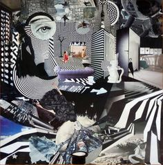 without a care in the world Collage Saatchi Online, Online Gallery, Saatchi Art, My Arts, Collage, Canvas, World, Artist, Tela