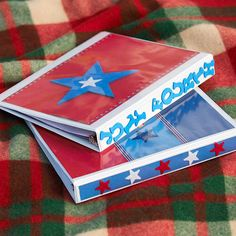 Make these 4th of July binders to keep kids entertained during a long drive. Download our free coloring pages here: http://www.bhg.com/holidays/july-4th/crafts/patriotic-crafts-for-kids/?socsrc=bhgpin061412#page=9
