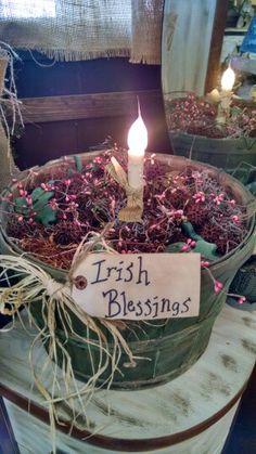 St. Patrick's Day basket.