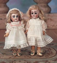 "Petite German Bisque Doll with Rare Original Body and Original Costume 7"" (18 cm.) Images | Theriault's"