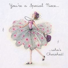 Cards » You're a Special Niece » You're a Special Niece - Berni Parker Designs