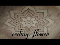 Ceiling flower - YouTube Pop Design, Flower Wall, Ceiling, Make It Yourself, Youtube, Flowers, Blog, Ceilings, Floral Wall