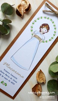Color Del Pelo, Ideas Para Fiestas, Holidays And Events, Place Cards, Favors, Place Card Holders, Scrapbook, Handmade, Dresses