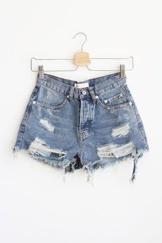 $35 Rebekah Distressed Shorts