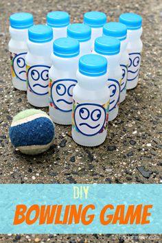 #WhereFunBegins #ad #DIY #bowlinggame #reciclaje #hazlotumisma #niños #verano #summer #games