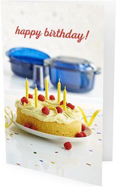 Tupperware Birthday Card 67
