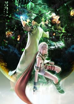 Snow and Lightning - Final Fantasy XIII