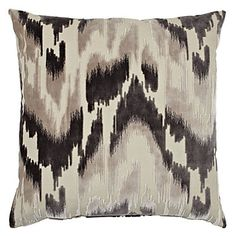 "z gallerie bedding | Sketch Pillow 24"" - Charcoal 