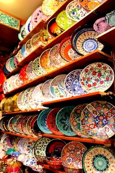 Grand Bazaar, İstanbul - Turkish Ceramic Plates
