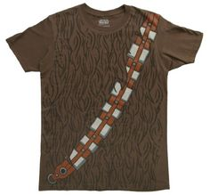 Star Wars I am Chewbacca Costume Adult Brown T-Shirt - http://bandshirts.org/product/star-wars-i-am-chewbacca-costume-adult-brown-t-shirt/