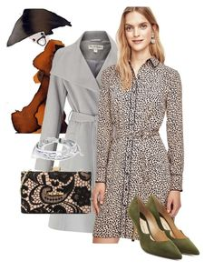 """""""DRESS"""" by masayuki4499 ❤ liked on Polyvore featuring Miss Selfridge, Ann Taylor, Paul Andrew, Love Moschino and West Coast Jewelry"""