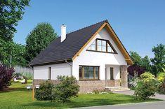Proiect superb de casa cu mansarda in suprafata de 90 mp! Home Fashion, House Styles, Houses, Home Decor, Homes, Interior Design, Home Interior Design, Home, Home Decoration