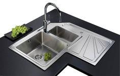 Lavello cucina angolare