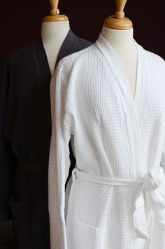 Soft cotton rich waffle robes from Natural Bed Company Bathrobe 👘 👘 Spa Lounge, Lounge Wear, Bed Company, Hotel Collection Bedding, Night Suit, Dream Bathrooms, Luxurious Bedrooms, Deco, Warm And Cozy