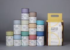 Nova Paints (Student Project) on Packaging of the World - Creative Package Design Gallery