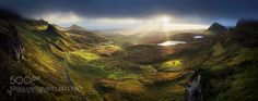 Quiraing morning by horiabogdan. Please Like http://fb.me/go4photos and Follow @go4fotos Thank You. :-)