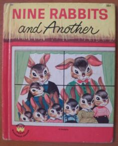 Wonder Book..Nine Rabbits and Another..
