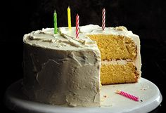 Golden Vanilla Birthday Cake Recipe - Oprah.com