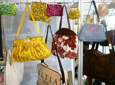 London Fashion Week's Estethica Features Beautiful Fabrics Recycled in Bags and Clothes : TreeHugger London Fashion, Upcycle, Cool Things To Buy, Recycling, Fabrics, Design Inspiration, Crafty, My Style, Finland
