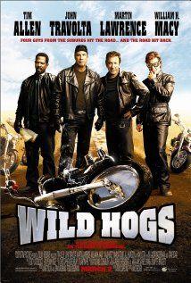 Wild Hogs (2007)-Tim Allen, John Travolta, Martin Lawrence, Ray Liotta, William H Macy & Marisa Tomei